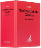 Niedersächsische Gesetze (ohne Fortsetzungsnotierung). Inkl. 114. Ergänzungslieferung