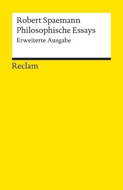 Philosophische Essays - Spaemann, Robert