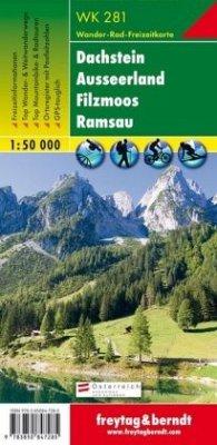Freytag & Berndt Wander-, Rad- und Freizeitkarte Dachstein, Ausseerland, Filzmoos, Ramsau