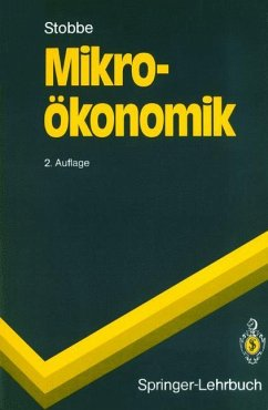 Mikroökonomik - Stobbe, Alfred