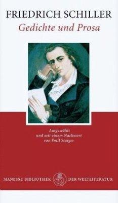 Gedichte und Prosa - Schiller, Friedrich