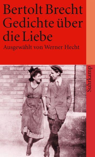 Gedichte über die Liebe von Bertolt Brecht - Taschenbuch
