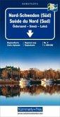Kümmerly+Frey Karte Nord-Schweden (Süd) Regionalkarte; Suède du Nord (Sud) / Northern Sweden (South) / Norra Sverige (Sy