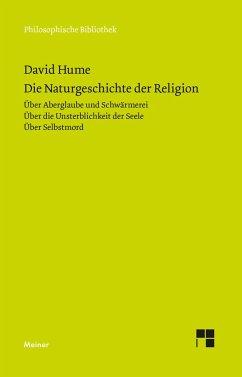 Die Naturgeschichte der Religion - Hume, David
