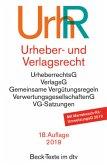 Urheber- und Verlagsrecht (UrhR)