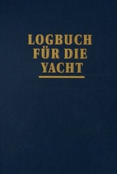 Logbuch für die Yacht