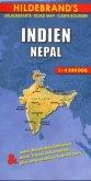 Hildebrand's Urlaubskarte Indien, Nepal; India, Nepal; Inde, Nepal