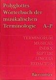 Polyglottes Wörterbuch der musikalischen Terminologie