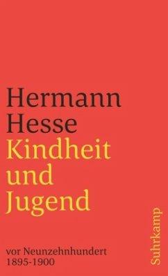 Kindheit und Jugend vor Neunzehnhundert, 1895-1900 - Hesse, Hermann