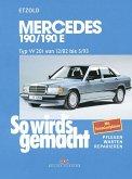 So wird's gemacht. Mercedes 190/190 E