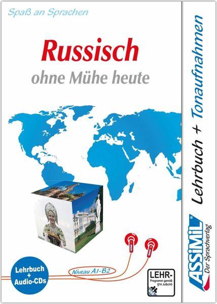 assimil russisch ohne m he heute lehrbuch niveau a1 b2 4 audio cds von vladimir dronov. Black Bedroom Furniture Sets. Home Design Ideas