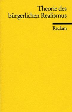 Theorie des bürgerlichen Realismus - Plumpe, Gerhard (Hrsg.)