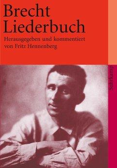 Brecht-Liederbuch - Brecht, Bertolt