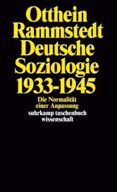 Deutsche Soziologie 1933 - 1945