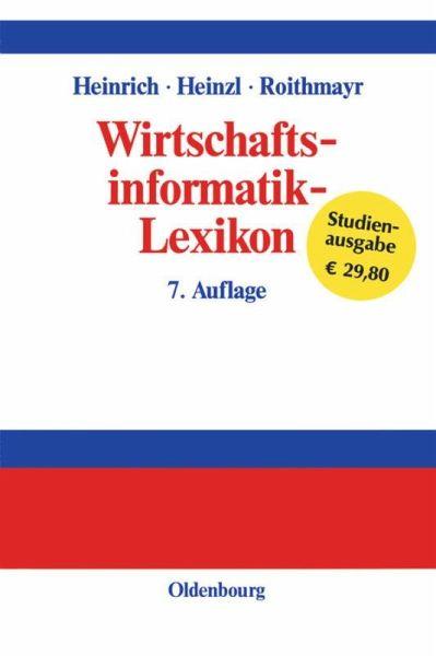 Wirtschaftsinformatik lexikon von lutz j heinrich armin for Armin heinzl