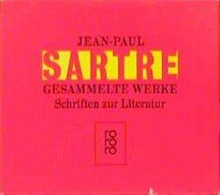 Gesammelte Werke. 8 Bände. Schriften zur Literatur - Sartre, Jean-Paul