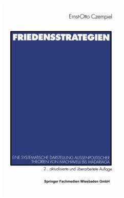 Friedensstrategien - Czempiel, Ernst-Otto