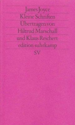 Kleine Schriften - Joyce, James