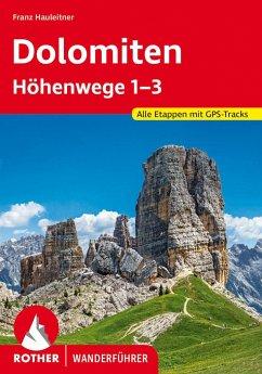 Dolomiten Höhenwege 1-3 - Hauleitner, Franz