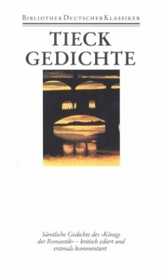 Gedichte - Tieck, Ludwig
