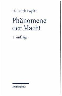 Phänomene der Macht - Popitz, Heinrich