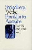 1903-1905 / Werke in zeitlicher Folge, Ln, Frankfurter Ausgabe, in 12 Bdn. Bd.10