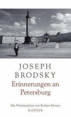 Erinnerungen an Petersburg - Brodskij, Jossif; Brodsky, Joseph