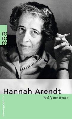 Hannah Arendt - Heuer, Wolfgang