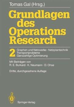 Grundlagen des Operations Research - Gal