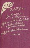 Die Konstitution der Allgemeinen Anthroposophischen Gesellschaft und der Freien Hochschule für Geisteswissenschaft