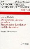 Die deutsche Literatur zwischen Französischer Revolution und Restauration 2