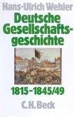 Von der Reformära bis zur industriellen und politischen 'Deutschen Doppelrevolution' 1815-1845/49 / Deutsche Gesellschaftsgeschichte Bd.2