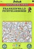 Fritsch Karte - Frankenwald, Fichtelgebirge