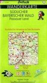 Fritsch Karte - Südlicher Bayerischer Wald, Passauer Land, Wanderkarte