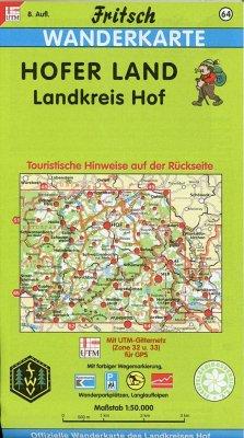 Fritsch Karte - Hofer Land