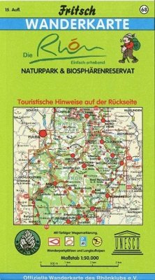Fritsch Karte - Die Rhön