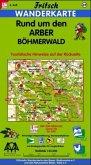 Fritsch Karte - Rund um den Arber, Böhmerwald