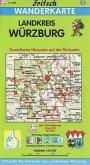 Fritsch Karte - Landkreis Würzburg