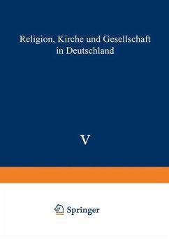 Religion, Kirche und Gesellschaft in Deutschland