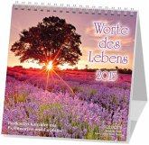 Worte des Lebens 2021. Postkarten-Kalender