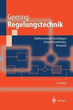 Regelungstechnik - Geering, Hans P.