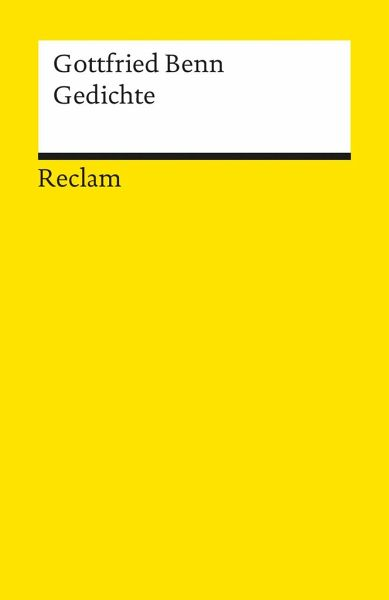 Gedichte - Benn, Gottfried