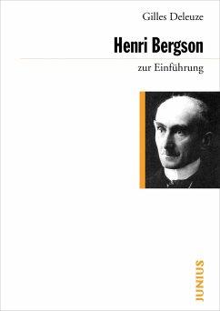 Henri Bergson zur Einführung - Deleuze, Gilles