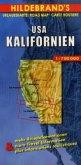 Hildebrand's Urlaubskarte USA, Kalifornien; USA, California; Etats-unis, Californie
