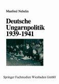 Deutsche Ungarnpolitik 1939 - 1941