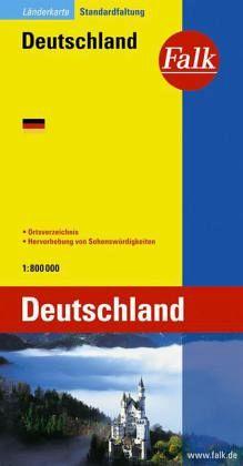 Deutschland, 1 : 800.000/Falk Pläne