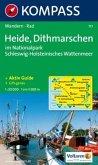 Kompass Karte Heide, Dithmarschen