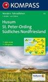 Kompass Karte Husum, St. Peter-Ording, Südliches Nordfriesland
