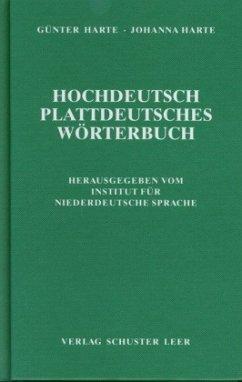 Hochdeutsch - Plattdeutsches Wörterbuch