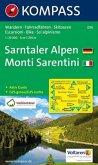 KOMPASS Wanderkarte Sarntaler Alpen, Monti Sarentini